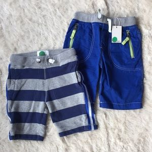 Mini Boden adventure and jersey shorts
